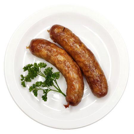 Колбаски из птицы и свинины