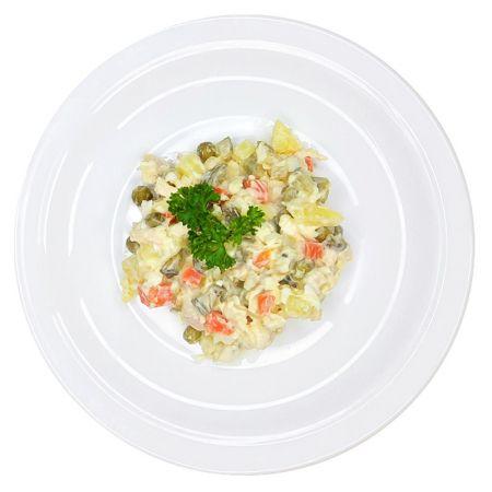 Салат овощной с птицей (вес)