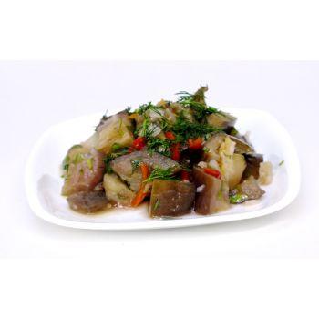 Салат острый с баклажанами (вес)
